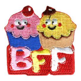 S-2674 BFF (Cupcakes) Patch
