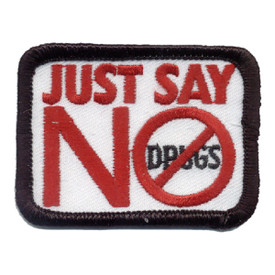 S-0120 Just Say No Patch