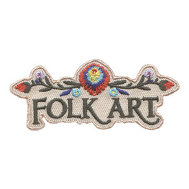 S-2680 Folk Art Patch