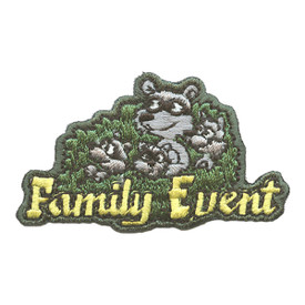 S-2681 Family Event (Raccoons) Patch