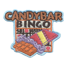 S-2691 Candy Bar Bingo Patch