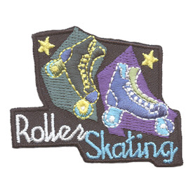 S-2693 Roller Skating Patch