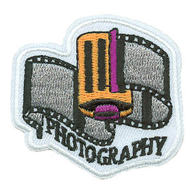 S-0123 Photography-Roll Of Film Patch