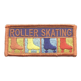 S-2696 Roller Skating Patch