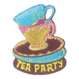 S-2698 Tea Party (Tea Cups) Patch