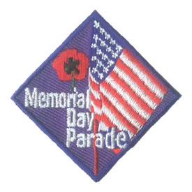 S-2701 Memorial Day Parade Patch