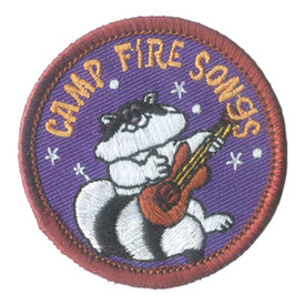 S-2702 Camp Fire Songs Patch