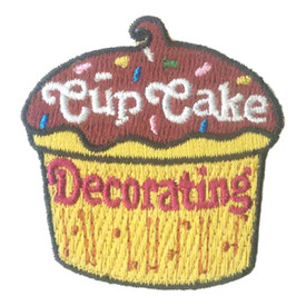 S-2703 Cup Cake Decorating Patch