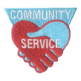S-2708 Community Service Patch