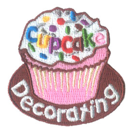 S-2712 Cupcake Decorating Patch