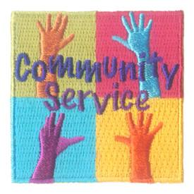 S-2714 Community Service Patch