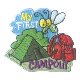 S-2715 My First Camp Out Patch