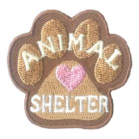 S-2719 Animal Shelter Patch