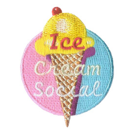 S-2722 Ice Cream Social Patch