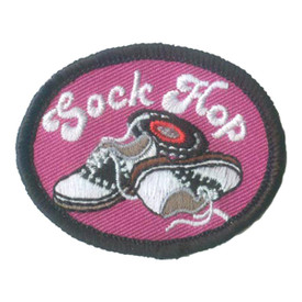 S-2724 Sock Hop Patch