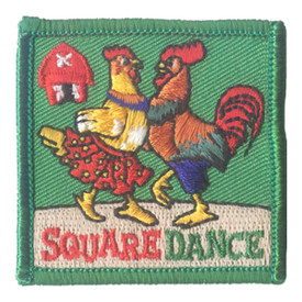 S-2725 Square Dance Patch