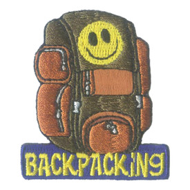 S-2731 Backpacking (Backpack) Patch