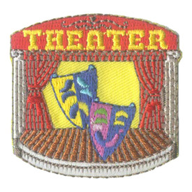 S-2741 Theater (Masks) Patch