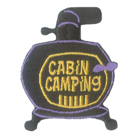 S-2743 Cabin Camping (Stove) Patch