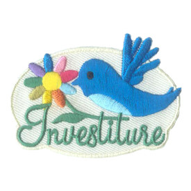 S-2744 Investiture (Blue Bird) Patch