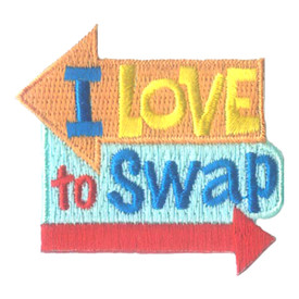 S-2747 I Love To Swap Patch