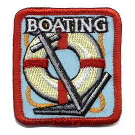 S-0133 Boating (Anchor & Ring) Patch