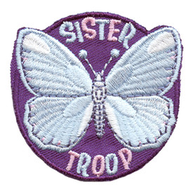 S-2769 Sister Troop (Butterfly) Patch
