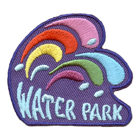 S-2787 Water Park (Wave) Patch