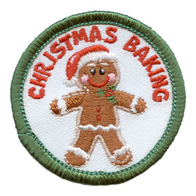 S-2789 Christmas Baking Patch