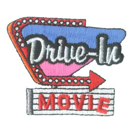 S-2798 Drive-In Movie Patch