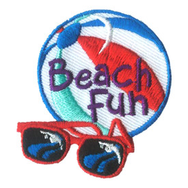 S-2802 Beach Fun Patch