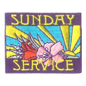 S-2803 Sunday Service Patch