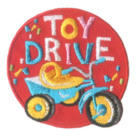 S-2804 Toy Drive Patch