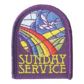 S-2807 Sunday Service Patch
