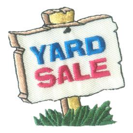 S-2809 Yard Sale Patch