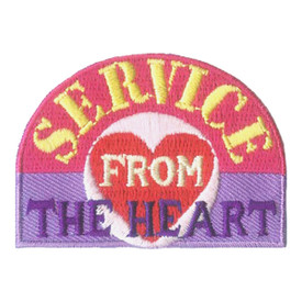 S-2810 Service From The Heart Patch