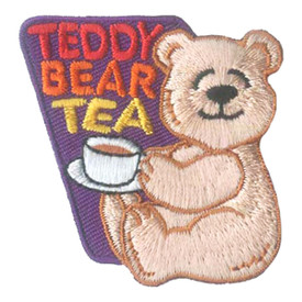 S-2813 Teddy Bear Tea Patch