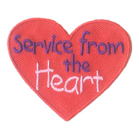 S-2815 Service From The Heart Patch