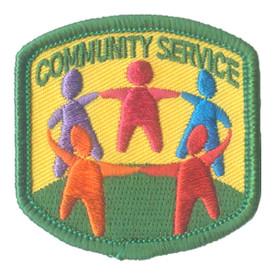 S-2817 Community Service Patch