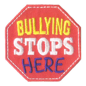 S-2823 Bullying Stops Here Patch