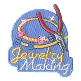 S-2825 Jewelry Making Patch