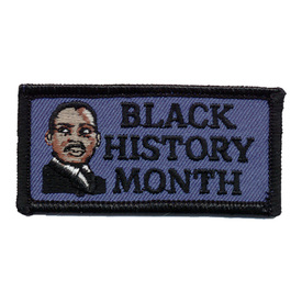 S-0143 Black History Month Patch