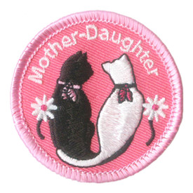 S-2826 Mother Daughter (Cats) Patch