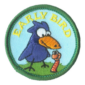 S-2834 Early Bird (Bird & Worm) Patch