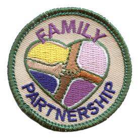 S-2840 Family Partnership Patch