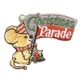 S-2842 Christmas Parade Patch