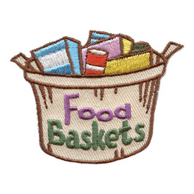 S-2843 Food Baskets Patch