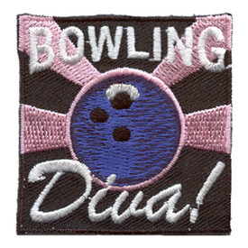 S-2848 Bowling Diva Patch