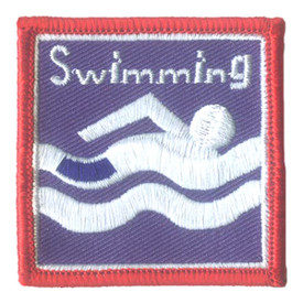 S-2861 Swimming Patch