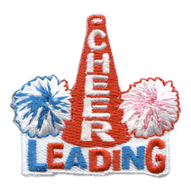 S-2862 Cheer Leading Patch